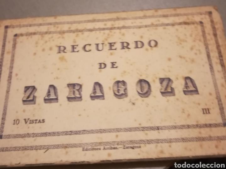 TARJETA POSTAL ZARAGOZA (Postales - España - Aragón Antigua (hasta 1939))