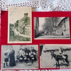 Postales: W.- 10.- LOTE DE -- 4 -- POSTALES DE-- ALHAMA DE ARAGON --, DIFERENTES LUGARES DE LA POBLACION . Lote 194138113