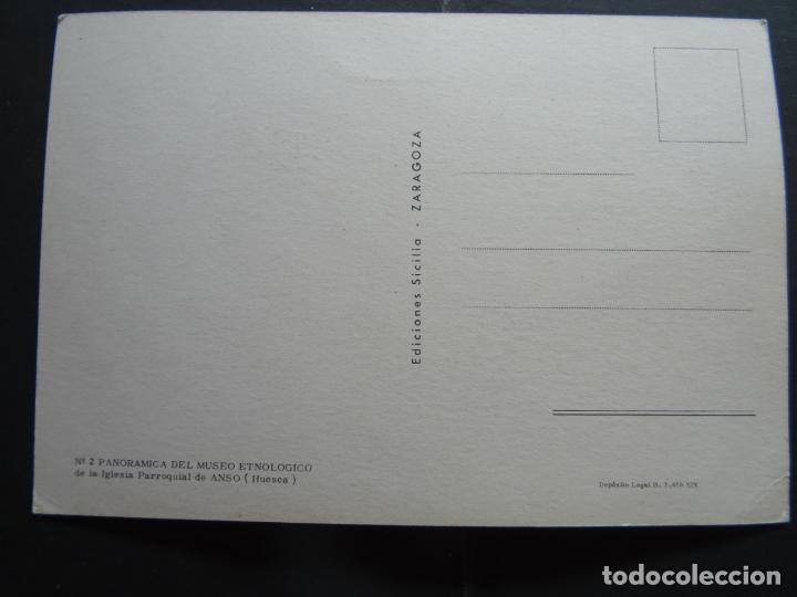 Postales: MUseo Etnologico de la Iglesia de Anso (Huesca) - Foto 2 - 194211910