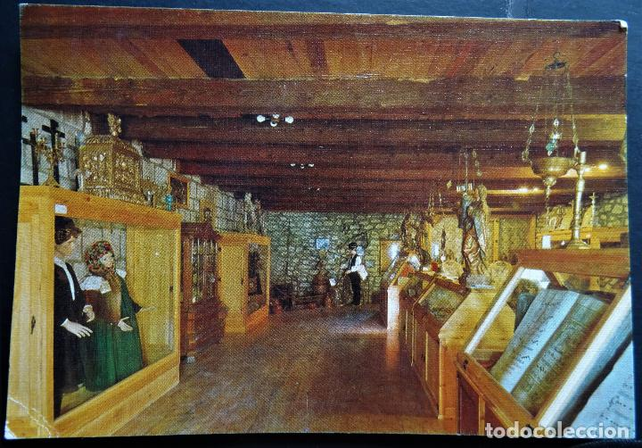 MUSEO ETNOLOGICO DE LA IGLESIA DE ANSO (HUESCA) (Postales - España - Aragón Moderna (desde 1.940))