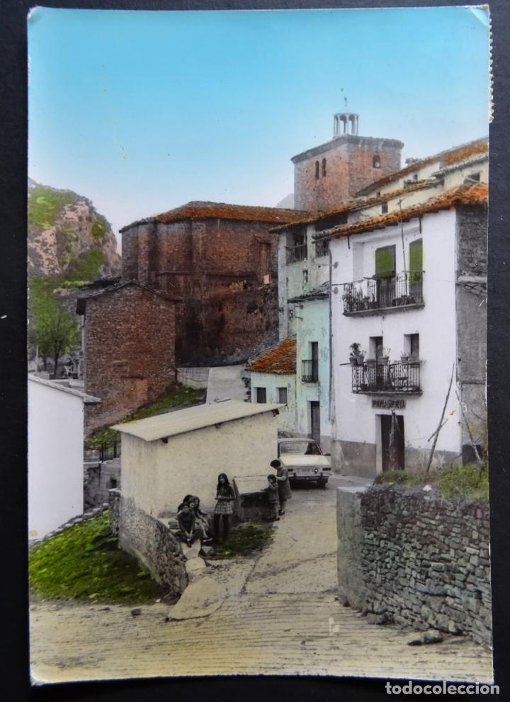 SALVATIERRA DE ESCA (HUESCA) POSTAL CIRCULADA DEL AÑO 1973, VER FOTOS (Postales - España - Aragón Moderna (desde 1.940))