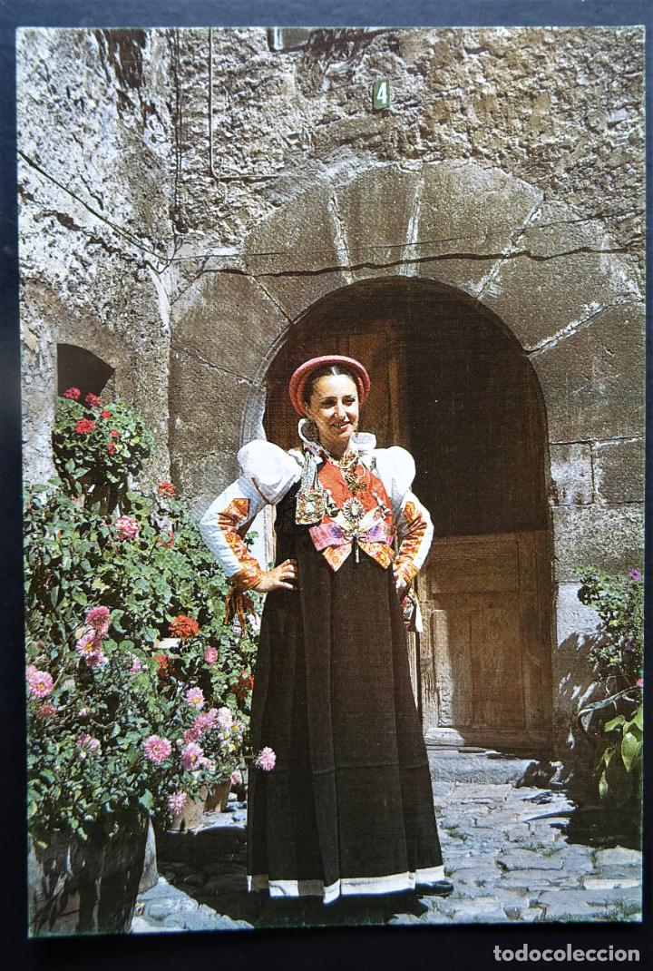 ANSO (HUESCA), PIRINEO ARAGONES, POSTAL SIN CIRCULAR DEL AÑO 1984 (Postales - España - Aragón Moderna (desde 1.940))