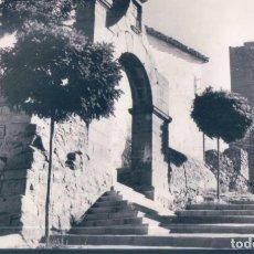 Postales: POSTAL MORA DE RUBIELOS - ARCO Y MURALLAS DEL SANTUARIO DE LA DOLOROSA - TERUEL. Lote 194274413