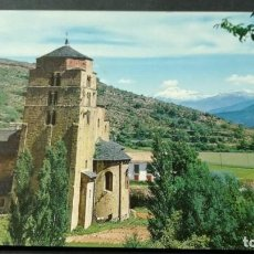 Postales: 26 SANTA CRUZ DE LA SEROS IGLESIA ROMANICA/ PIRINEO ARAGONES HUESCA A-16. Lote 194310040