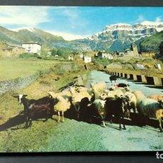Postales: 14 TORLA VISTA GENERAL MONDARRUEGO AL FONDO/ PIRINEO ARAGONES HUESCA A-16. Lote 194310587