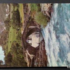 Postales: 8 TORLA PUENTE ROMANICO RIO ARA/ PIRINEO ARAGONES HUESCA A-16. Lote 194310631