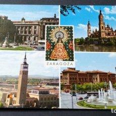 Postales: 85 ZARAGOZA BELLEZAS DE LA CIUDAD/ ARAGON A22. Lote 194355041