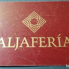 Postales: ALJAFERIA - CORTES ARAGON - HORARIOS/ ARAGON A22. Lote 194355077