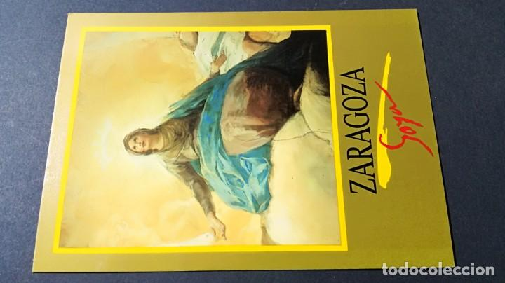 ZARAGOZA - GOYA - CUPULA REGINA MARTYRUM PILAR/ ARAGON A23 (Postales - España - Aragón Moderna (desde 1.940))