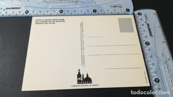 Postales: ZARAGOZA - GOYA - CUPULA REGINA MARTYRUM PILAR/ ARAGON A23 - Foto 3 - 194355102