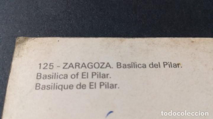 Postales: 125 ZARAGOZA BASILICA PILAR/ ARAGON A23 - Foto 2 - 194355153