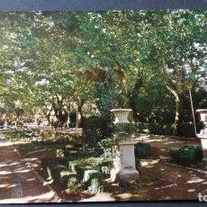 Postales: 1954 HUESCA PARQUE MUNICIPAL/ ARAGON A23. Lote 194355256