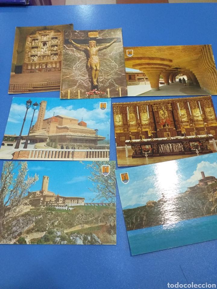 7 POSTALES TORRECIUDAD AÑOS 60 (Postales - España - Aragón Moderna (desde 1.940))