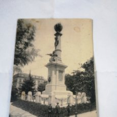 Postales: ESCASA 30 ZARAGOZA- MONUMENTO DE JUAN DE LANUZA EL JUSTICIERO. LL. POSTAL. CIRCA 1915. ARAGÓN. Lote 194496802