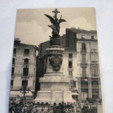 Postales: 31 ZARAGOZA. MONUMENTO A LOS MARTIRIOS. - LL. CIRCA 1910. ESCASA.. Lote 194500142