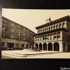 Postales: CARIÑENA, ZARAGOZA, ARAGON, PLAZA DE ESPAÑA Y CASA CONSISTORIAL.. Lote 194507446