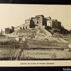 Postales: SIETAMO, HUESCA, ARAGON, CASTILLO DEL CONDE DE ARANDA. Lote 194507841