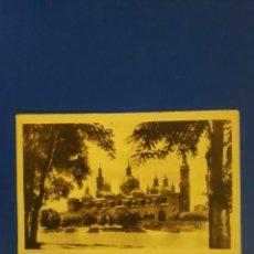 Postales: MUY ANTIGUA POSTAL DE ZARAGOZA. Lote 194519947