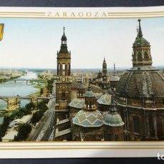 Postales: 310 ZARAGOZA VISTA GENERAL DESDE CUPULA MAYOR PILAR. Lote 194544050