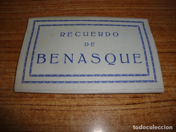 ACORDEON DE 10 POSTALES RECUERDO DE BENASQUE NO INDICA FOTOGRAFO (Postales - España - Aragón Moderna (desde 1.940))