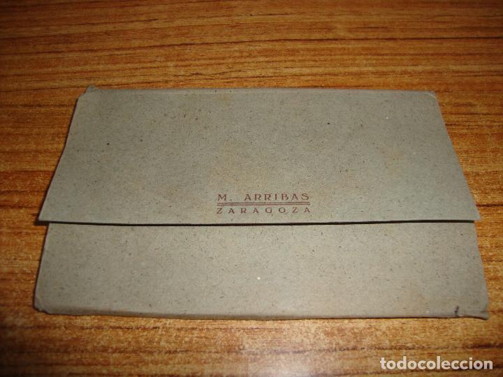 Postales: ACORDEON DE 10 POSTALES MONASTERIO DE PIEDRA M. ARRIBAS ZARAGOZA - Foto 2 - 194610158
