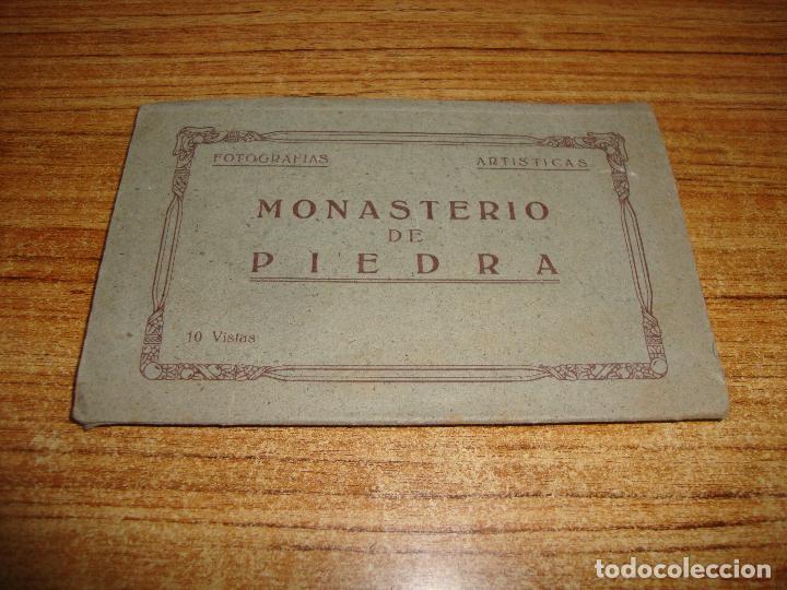 ACORDEON DE 10 POSTALES MONASTERIO DE PIEDRA M. ARRIBAS ZARAGOZA (Postales - España - Aragón Moderna (desde 1.940))