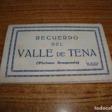 Postales: ACORDEON DE 8 POSTALES RECUERDO DEL VALLE DE TENA ED. ARRIBAS ZARAGOZA. Lote 194610456
