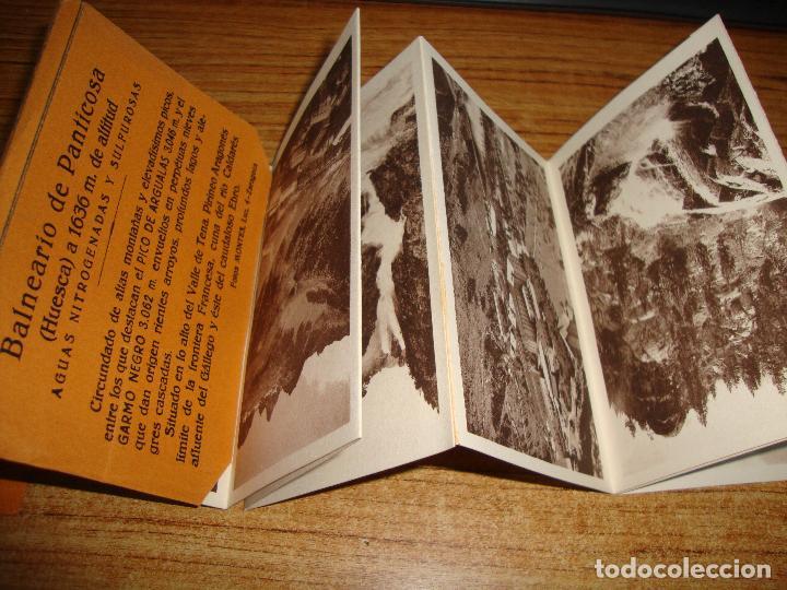 Postales: ACORDEON DE 10 POSTALES BALNEARIO DE PANTICOSA FOTOS MONTES ZARAGOZA - Foto 2 - 194610617