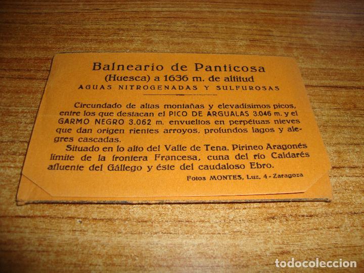 Postales: ACORDEON DE 10 POSTALES BALNEARIO DE PANTICOSA FOTOS MONTES ZARAGOZA - Foto 3 - 194610617