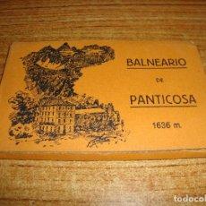 Postales: ACORDEON DE 10 POSTALES BALNEARIO DE PANTICOSA FOTOS MONTES ZARAGOZA. Lote 194610617