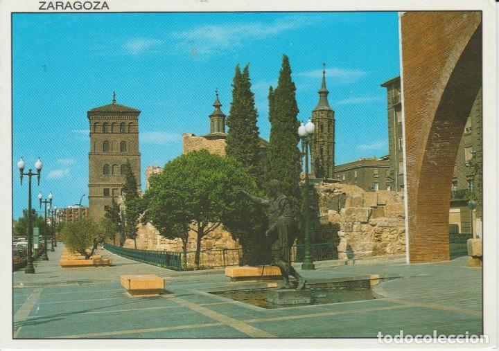 (24) ZARAGOZA. MURALLAS ROMANAS. TORRES DE AZUA Y SAN JUAN DE LOS PANETES (Postales - España - Aragón Moderna (desde 1.940))