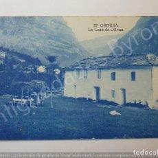 Postales: POSTAL ANTIGUA. ORDESA. LA CASA DE OLIVAN. HUESCA. ARRIBAS Nº 22. Lote 194719131