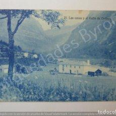 Postales: POSTAL ANTIGUA. LAS CASAS Y EL VALLE DE ORDESA. HUESCA. ARRIBAS Nº 21. Lote 194719326