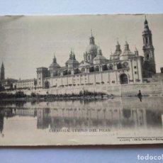 Postales: POSTAL -- ZARAGOZA - TEMPLO DEL PILAR -- SIN USO --. Lote 194777133