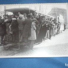 Postales: POSTAL HERALDO DE ARAGÓN REPRODUCIÓN LINEA TRANVIA TORRERO PRIMER TERCIO SIGLO XX. Lote 194778672