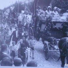 Postales: POSTAL HERALDO DE ARAGÓN REPRODUCIÓN AÑO 1931; CABALGATA FIESTAS DEL PILAR; ZARAGOZA. Lote 194785615