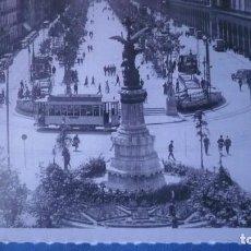 Postales: POSTAL HERALDO DE ARAGÓN REPRODUCIÓN AÑO 1931 PLAZA DE ESPAÑA Y Pº INDEPENDENCIA; ZARAGOZA. Lote 194786370