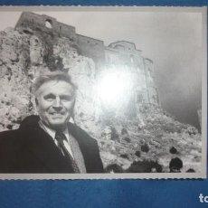 Postales: POSTAL REPRODUCIÓN HERALDO DE ARAGÓN REPRODUCIÓN. CHARLTON HESTON EN CASTILLO LOARRE; 1989 PARA BBC. Lote 194786510