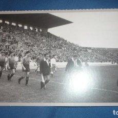 Postales: POSTAL HERALDO DE ARAGÓN REPRODUCIÓN - AÑO 1957. ROMAREDA PARTIDO R.ZARAGOZA-OSASUNA. Lote 194786718