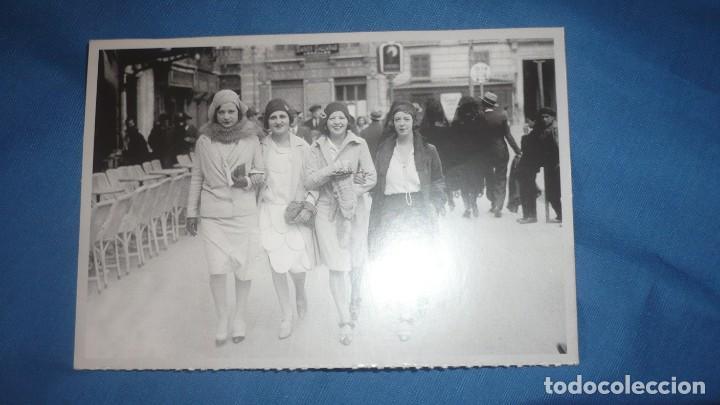 POSTAL HERALDO DE ARAGÓN REPRODUCIÓN; AÑOS 20 PLAZA ESPAÑA; CAFÉ GAMBRINUS ;ZARAGOZA (Postales - España - Aragón Moderna (desde 1.940))
