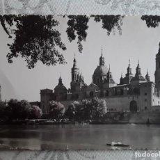 Postales: ZARAGOZA, TEMPLO DEL PILAR. AÑOS 50 . USADA. ED GARCIA GARRABELLA.. Lote 194875825