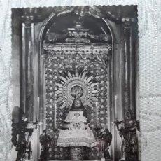 Postales: ZARAGOZA, CAMARÍN VIRGEN DEL PILAR. AÑOS 50, USADA. ED GARCIA GARRABELLA. Lote 194876028