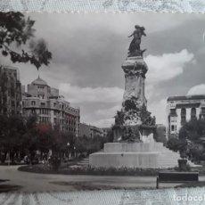 Postales: ZARAGOZA,MONUMENTO A LOS SITIOS, AÑOS 50, USADA, ED GARCIA GARRABELLA. Lote 194876188
