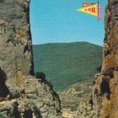 Postales: (3) PIRINEO ARAGONES. HUESCA. LA PEÑA. FOZ DE ESCALETE ... SIN CIRCULAR. Lote 194888637
