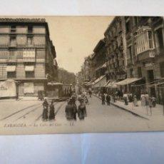 Postales: POSTAL. 10. ZARAGOZA. LA CALLE DEL COSO. - LL. CIRCA 1916.. Lote 194915416