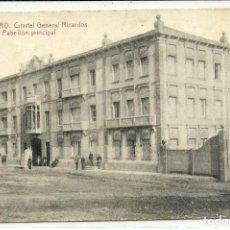 Postales: (PS-63086)POSTAL DE BARBASTRO-CUARTEL GENERAL RICARDOS PABELLON PRINCIPAL. Lote 194924792
