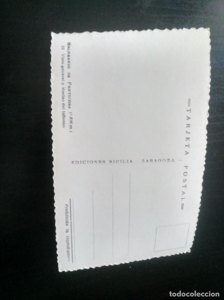 Postales: Panticosa 33 macizo del infierno. Ediciones Sicilia - Foto 2 - 194927325