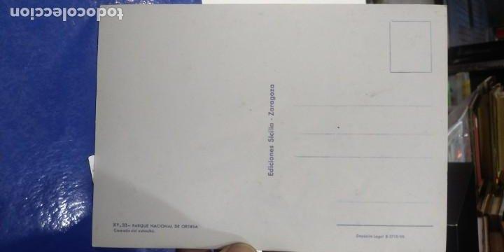 Postales: Postal Parque Nacional de Ordesa Cascada del estrecho N 31 SICILIA - Foto 2 - 194952498