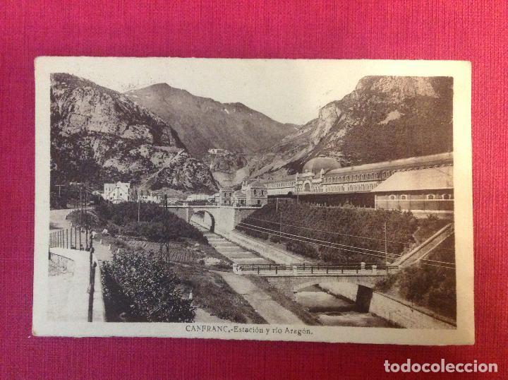 ANTIGUA POSTAL D ARAGON (Postales - España - Aragón Moderna (desde 1.940))