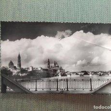 Postales: POSTAL ZARAGOZA EL PILAR Y RIO EBRO. Lote 194987707
